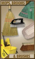 mop heads, microfiber, antimicrobial, handles, pad holder, dusters